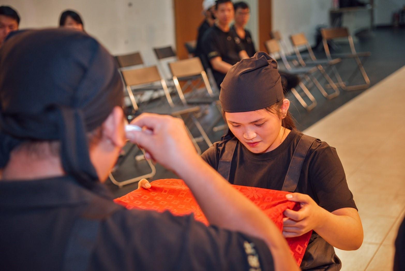 【薪火相傳拜師儀式】- 黎明技術學院時尚設計系專題培訓金工課程