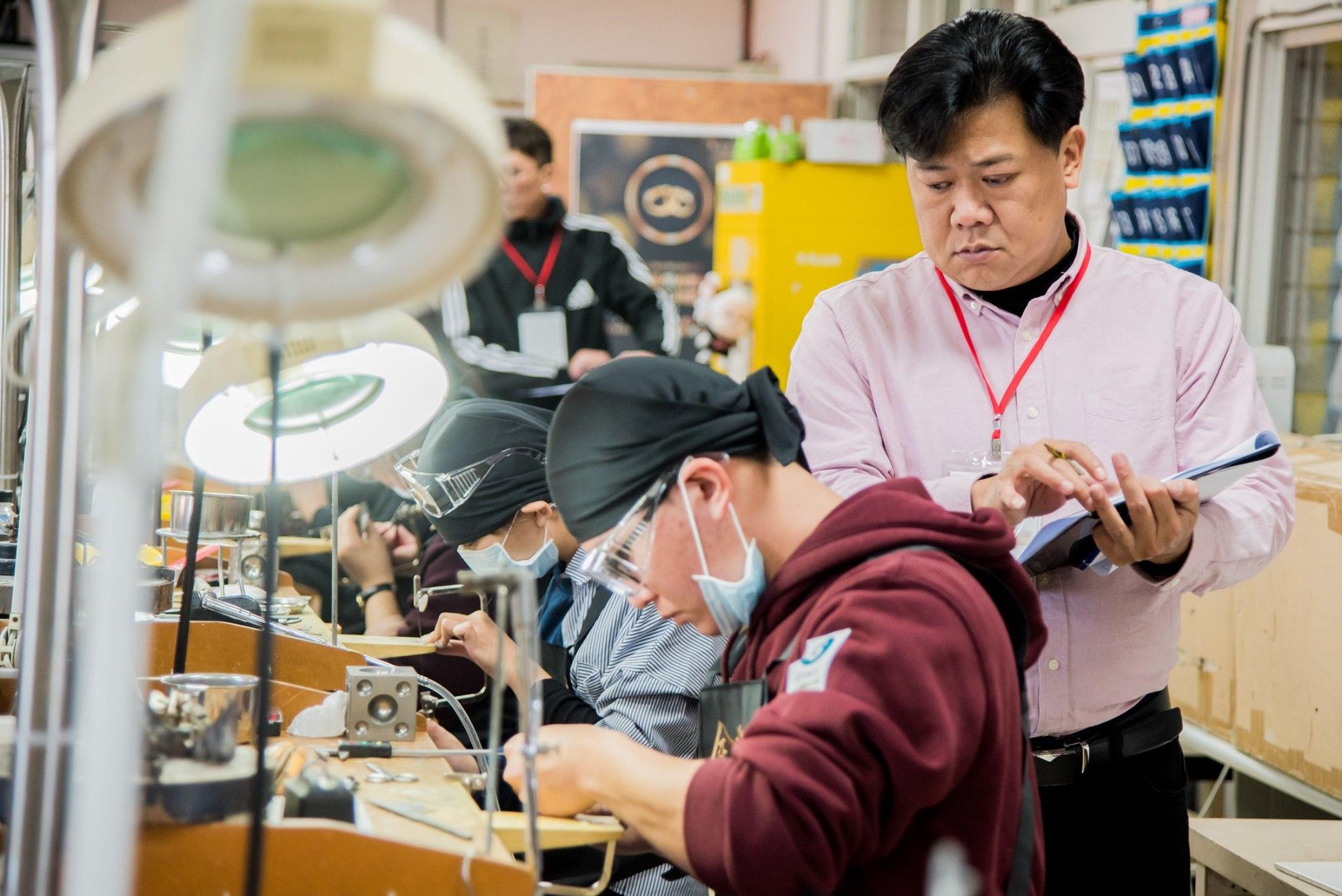 金藝求精 第三屆 全國精品設計金工競賽 第二天